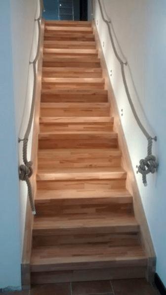 Treppe zum 3ten